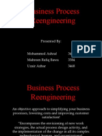 Final Business Process Re Engineering