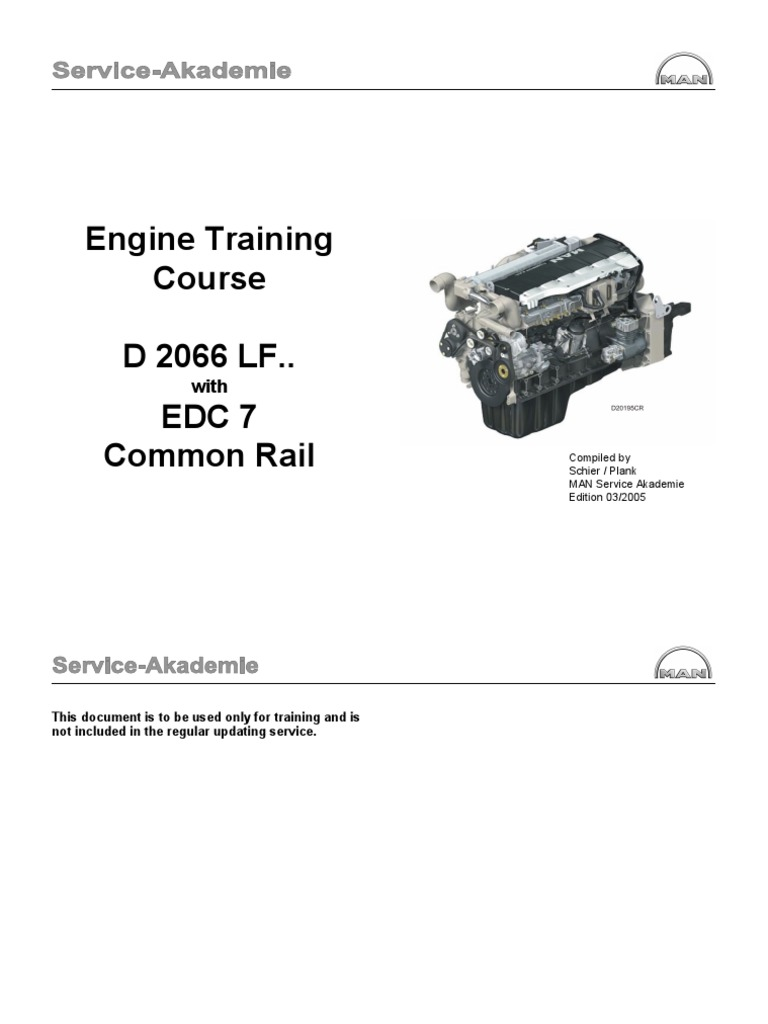 160891541 man d20 eng turbocharger engines rh scribd com man d2066 service manual Manual Fan