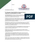 NHCR PRESS RELEASE (9/27/13)