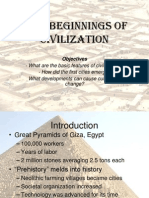 1 3 - beginnings of civilization