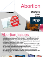 abortion group presentation fall 2013