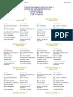 Calendario temporada 2009 -2010