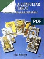 Banzhaf Hajo - Aprenda a Consultar El Tarot