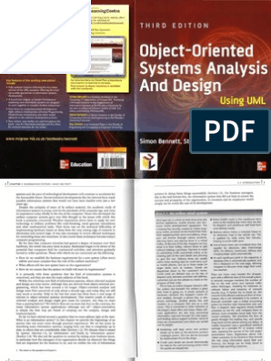 Object Oriented Systems Analysis And Design Using Uml 3rd Edition Ocr D Exact Images Dopdf D Feedback Positive Feedback