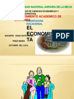 Perfil Del Economista