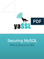 Securing MySQL with a Focus on SSL