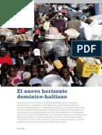 El Nuevo Horizonte Dominico-Haitiano. Revista Global - FUNGLODE. Vol 9 Marzo-Abril 2012. HD Final Copy
