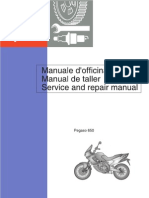 Aprilia Pegaso 650 - Service and Repair Manual 1997