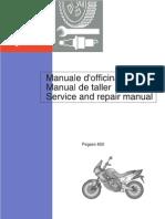 Aprilia Pegaso 650 - Service and Repair Manual 1997