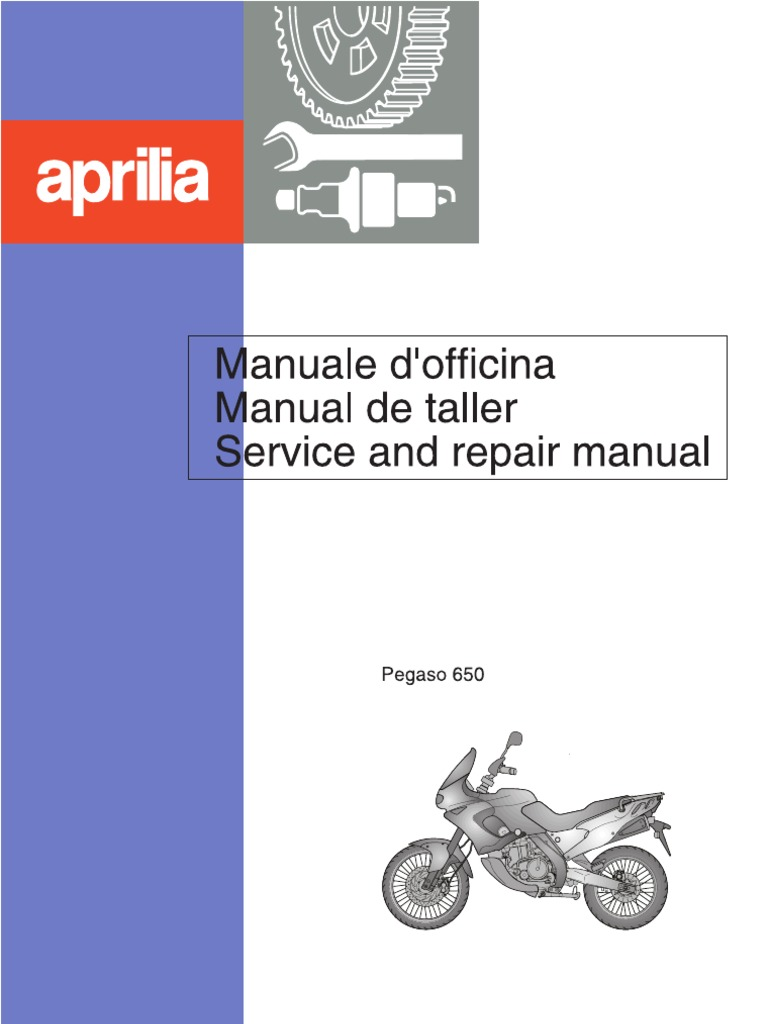 Circuito Bain : Aprilia pegaso 650 service and repair manual 1997