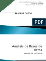 Analisis Extendido de Bases de DAtosndido