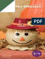 Scentsy October Flyer