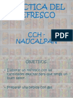 Practica Del Refresco