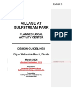 Exhibit 5- Revised Village at Gulfstream Park Design Guidelines_201309171354213658