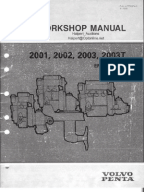 Volvo Penta Workshop Manual EFI Diagnostic | Gasoline