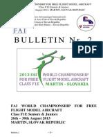 13 F1E WCh Bulletin 2