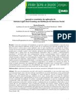 Comparativo econômico da aplicação do LSF em HIS