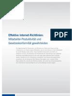SOPHOS Whitepaper Effektive Internet-Richtlinien Erstellen