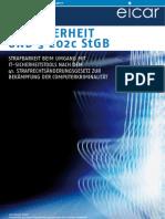 EICAR Dennis Jlussi IT-Sicherheit und § 202c StGB