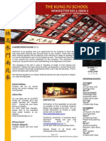 The Kung Fu School - Newsletter - Vol 2 Issue 3