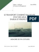 2010 Memoire M2 Logistique - ROLLIER Anna