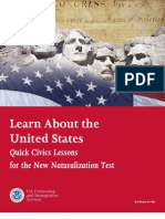 USA Naturalization Handbook