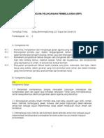 Revisi Rencana Pelaksanaan Pembelajaran Tema Hemat Energi Baru