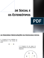 Identidade Social e os Estereótipos