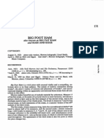 [Piano Sheet] Jelly Roll Morton - Big Foot Ham