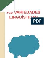 86327417 as Variedades Linguisticas