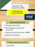 K3 Konstruksi Pelatihan Print