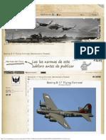 Boeing B-17 'Flying Fortress' [Bombardero Pesado]