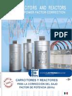 Capacitores y Reactores Electronicon