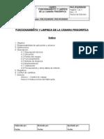 9.Funcionamiento y Limpieza de La Camara Frigorifica