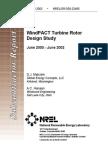 WindPACT Turbine Rotor Design Study