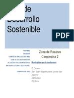Plan de Desarrollo Sostenible ZRC