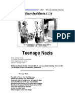 Military Resistance 11I14 Teenage Nazis