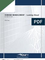 Xinify-Demand Management Maturity