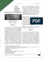 Caracteristica de Los Programas de Rehabilitacion Cardiaca en Colombia