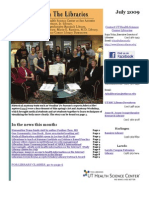 News From the Libraries - UT HSC Newsletter July 2009