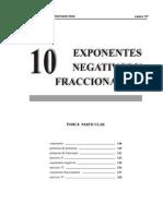 10 exponentes