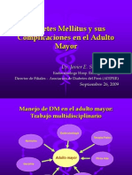 Diabetes Mellitus y Sus Complicaciones en El Adulto Mayor