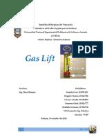 GAS LIFT Trabajo