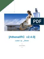 Athena IRC Documentation 2.4.0