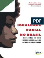 Livro Igualdade Racial Brasil Ipea