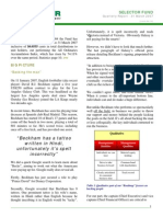 selector march 2007 quarterly newsletter