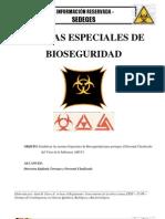 BIOSEGURIDAD ESPECIAL CONTRA LA GRIPE AH1N1