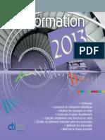 CTICM Formation 2013