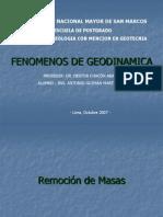 Fenómenos de Geodinámica partial