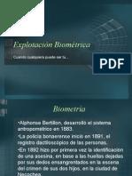 Biometría / Oscar García López